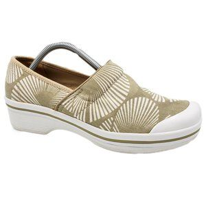 Dansko Vegan Canvas Slip Resistant Clog Shoes